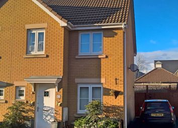 Thumbnail 3 bed semi-detached house for sale in Coopers Way, Llanfoist, Abergavenny
