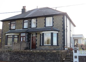 Thumbnail 3 bed terraced house for sale in St Davids Road, Pengam, Blackwood
