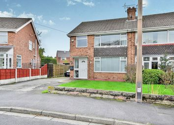 Thumbnail 3 bed semi-detached house for sale in Baslow Drive, Heald Green, Cheadle