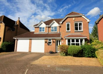 Thumbnail 4 bedroom detached house for sale in Riverside Gardens, Peterborough