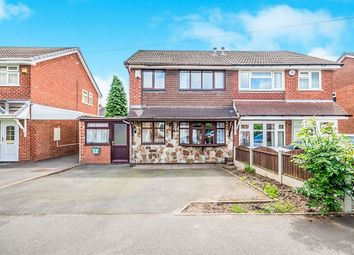 Thumbnail 3 bedroom semi-detached house for sale in Meon Way, Wednesfield, Wolverhampton