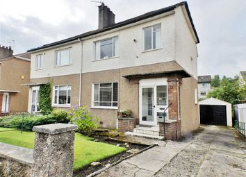 Thumbnail 3 bed semi-detached house for sale in Graffham Avenue, Giffnock, Glasgow