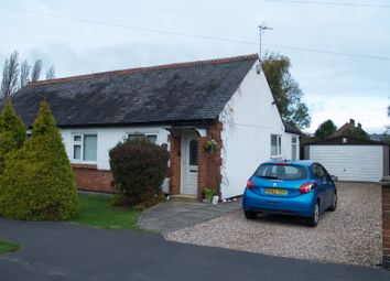 Thumbnail 2 bed semi-detached bungalow for sale in Triumph Road, Glenfield, Leicester