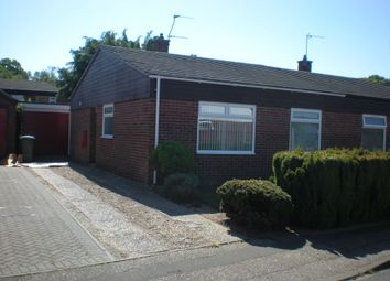Thumbnail 2 bed semi-detached bungalow to rent in Cere Road, Sprowston