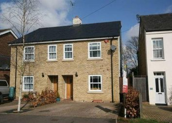 Thumbnail 3 bed semi-detached house to rent in Warner Road, Ware