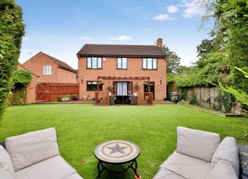 Thumbnail 4 bedroom detached house for sale in Rosebay Close, Walnut Tree, Milton Keynes