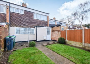 Thumbnail 3 bed terraced house for sale in Farhill Close, West Bromwich