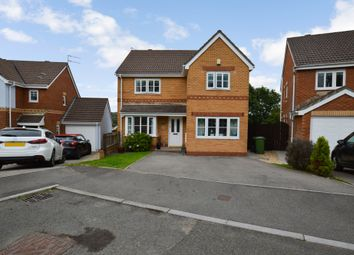 Thumbnail 4 bed detached house for sale in Cae Canol, Hengoed