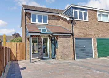 Thumbnail 3 bedroom semi-detached house to rent in Constable Avenue, Eaton Ford, St. Neots