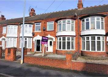 Thumbnail 3 bedroom terraced house for sale in Claremont Avenue, Hull