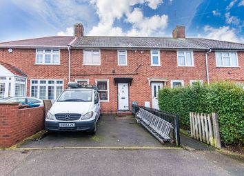 Thumbnail 3 bed terraced house for sale in Banker Road, Kenton, Harrow