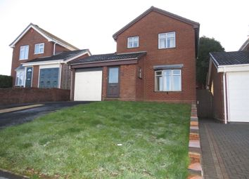 Thumbnail 3 bed detached house for sale in Stokesay Close, Tividale, Oldbury