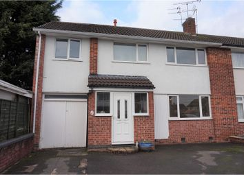 Thumbnail 4 bed semi-detached house for sale in Bingley Road, Leicester