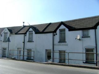 Thumbnail 1 bed terraced house to rent in Edwardsville, Treharris