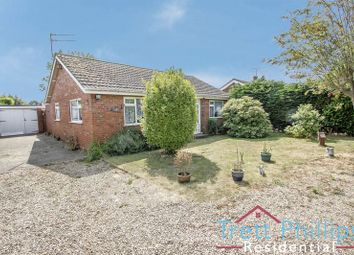 Thumbnail 2 bed detached bungalow for sale in Church Road, Catfield, Great Yarmouth