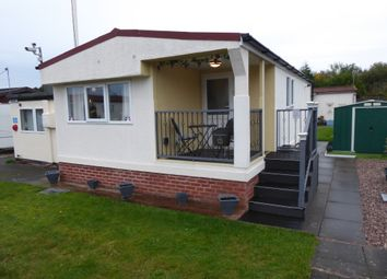 Thumbnail 2 bed mobile/park home for sale in Love Lane Park, Love Lane, Rugeley, Staffordshire