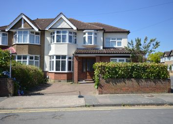 Thumbnail 5 bed end terrace house to rent in Woodlands Road, Romford