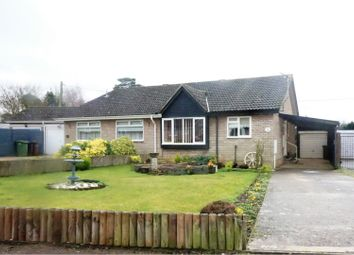 Thumbnail 2 bed semi-detached bungalow for sale in Bramley Road, Diss