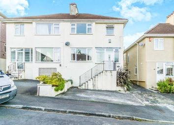 Thumbnail 3 bed semi-detached house for sale in Hartley Vale, Plymouth, Devon