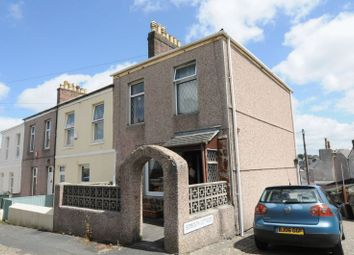 Thumbnail 3 bedroom end terrace house for sale in Mutley, Plymouth