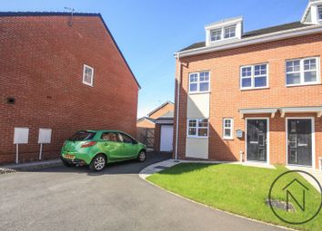 Thumbnail 3 bed town house for sale in Welwyn Close, Stockton-On-Tees