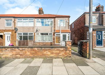 Thumbnail 3 bed end terrace house for sale in Kent Road, St. Helens, Merseyside