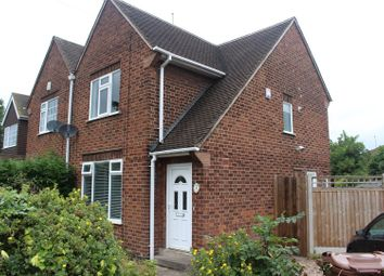 Thumbnail 2 bed semi-detached house for sale in Brierfield Avenue, Wilford, Nottingham