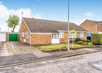 Thumbnail 2 bed bungalow for sale in Torrington Close, Wigston, Leicester, Leicestershire