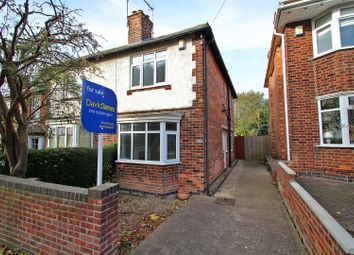 Thumbnail 3 bed semi-detached house for sale in Moore Road, Mapperley, Nottingham