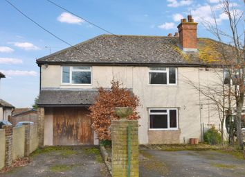Thumbnail 4 bed semi-detached house for sale in Church Side, East Ilsley, Newbury