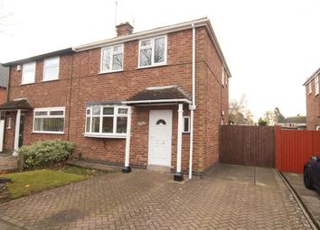 Thumbnail 3 bed semi-detached house to rent in Newstead Avenue, Burbage, Hinckley