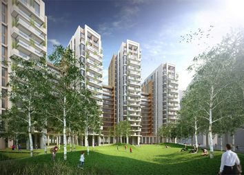 Thumbnail 3 bed flat for sale in North Wharf Road, London