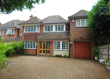 Thumbnail 5 bed detached house for sale in Woodcote Road, Caversham Heights, Reading