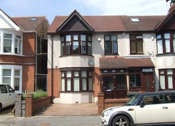 Thumbnail 4 bedroom end terrace house for sale in Aberdour Road, Goodmayes, Ilford