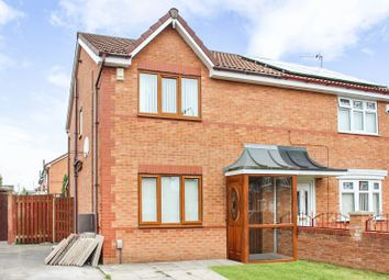 Thumbnail 3 bed semi-detached house for sale in Middleham Close, Kirkby, Liverpool