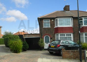 Thumbnail 3 bedroom semi-detached house for sale in Crummock Gardens, Kingsbury