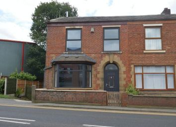 Thumbnail 3 bedroom semi-detached house to rent in Rochdale Road East, Heywood