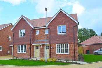 Thumbnail 3 bed semi-detached house to rent in Wimblehurst Road, Forge Wood, Crawley, West Sussex