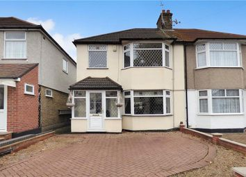 Thumbnail 3 bed semi-detached house for sale in Osborne Road, Hornchurch
