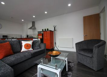 Thumbnail 2 bed flat to rent in Leek, Staffordshire, England