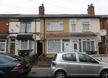 Thumbnail 3 bedroom terraced house for sale in Sladefield Road, Saltley, Birmingham