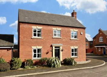 Thumbnail 4 bed detached house for sale in Pickering Place, Burbage, Hinckley