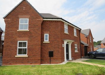 Thumbnail 3 bed detached house to rent in Taylor Way, Lichfield