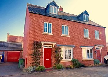 Thumbnail 4 bed semi-detached house for sale in Knighton Close, Peterborough
