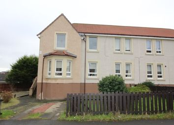 Thumbnail 3 bed flat for sale in Burns Crescent, Airdrie