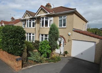 Thumbnail 3 bed semi-detached house for sale in Hazelbury Road, Whitchurch, Bristol