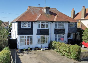 Thumbnail 3 bed semi-detached house for sale in The Broadway, Herne Bay, Kent