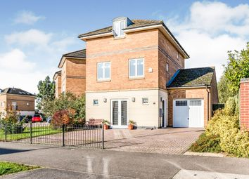 Thumbnail 4 bed detached house for sale in Hargate Way, Hampton Hargate, Peterborough