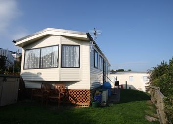 Thumbnail 2 bed property for sale in Popular Caravan Park, Popular Caravan Park, Swanage