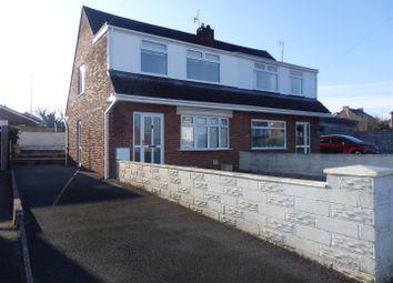 Thumbnail 3 bed semi-detached house for sale in Brynmead, Bryn, Llanelli